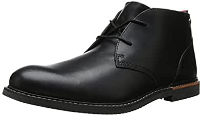 Timberland Men's EK Brook Park Chukka Boot,Black Smooth,7 M US