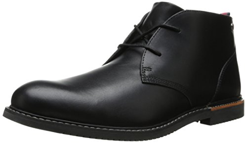 Timberland Men's EK Brook Park Chukka Boot,Black Smooth,11 W (Black Smooth Chukka)