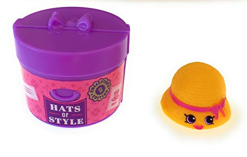 Shopkins Season 10 Collectors Edition CE-103 Hattie Hat Rare and CE-196 Container