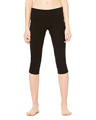 Wholesale Bella + Canvas Ladies Cotton/Spandex Capri Fit Legging