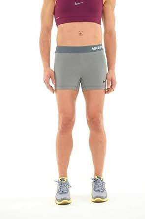 Nike Pro Core II Women's 2.5 Inch Compression Shorts - X Small - Grey