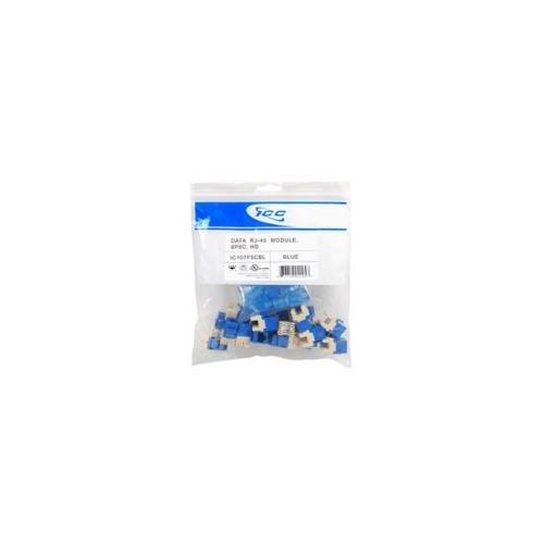 - Icc - icc-ic107f5cbl - module, cat 5e, hd, 25 pk, blue