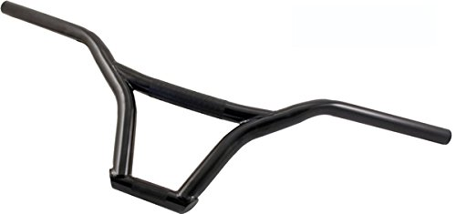 RMS Manillar de Acero para BMX//Freestyle Negro Steel Handlebar for MTB Freestyle//Black