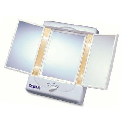 conair 3 panel lighted mirror - 2