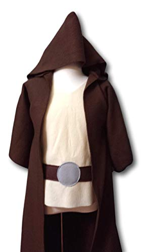 Handmade Star Wars Halloween Costumes (Baby Star Wars Jedi Robe Costume Set (Luke Skywalker/Obi Wan Kenobi/Jedi Knight/Jedi Master) - Baby/Toddler/Kids/Teen/Adult)