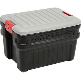 Rubbermaid 1172 ActionPacker Storage Box, 24 (Truck Storage Bins)