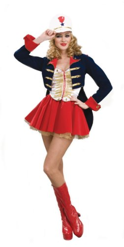 [Super Deluxe Toy Soldier Sexy Costume - Womens 14-16] (Womens Tailcoat Costume)