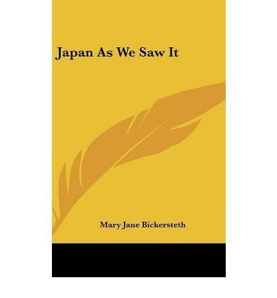 Download Japan as We Saw It (Hardback) - Common PDF
