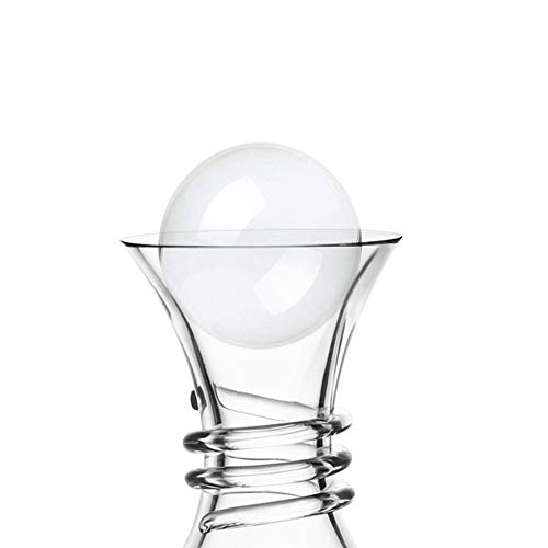 Soing Clear Crystal 2.5 Inches Wine Decanter Stopper Crystal Ball (Wine Decanter Stopper)