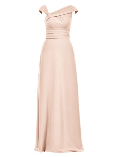Pearl line Long Alicepub Pink Gown 2017 A for Formal Bridesmaid Evening Women Dress Dresses 14p0q7
