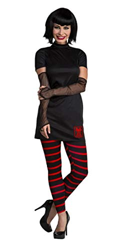 Spider Web Arm Warmers - Palamon Hotel Transylvania Mavis Classic Women's Costume with Wig X-Small 2-4