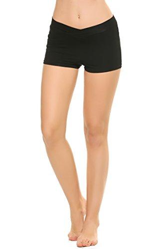 Ekouaer Women's Yoga Shorts Fitness Gym  - V-waist Dance Shopping Results