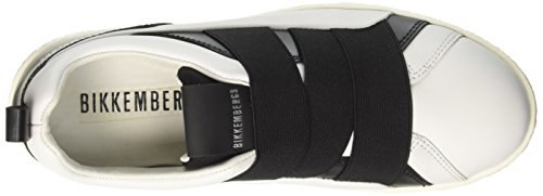 Bikkembergs Donna Collo 956 Basso Best a White Bianco Sneaker HWRrYHqv