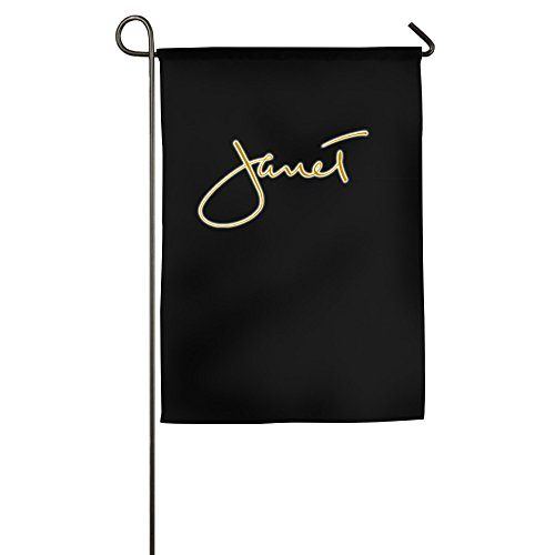 [Janet Jackson Garden Sports Flag Family Banner Flags] (90s Decade Costumes)