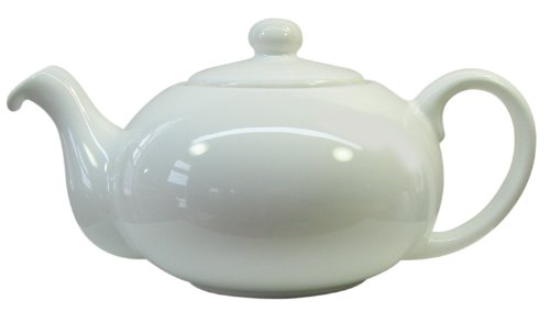 Waechtersbach Fun Factory II White Teapot, 28-Ounce