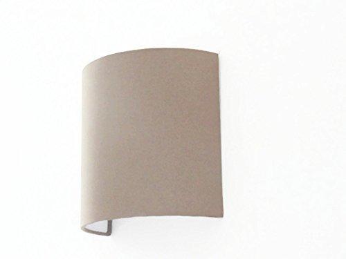 Applique Murale Demi Cylindre Luminaire Taupe 12 Lune Choix Couleur