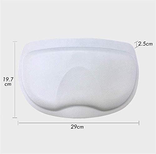 バスタブ枕ノンスリップマッサージスパパッドバス枕バスタブヘッド&ネック休息サポート、耐久性のある快適なバスタブ用品