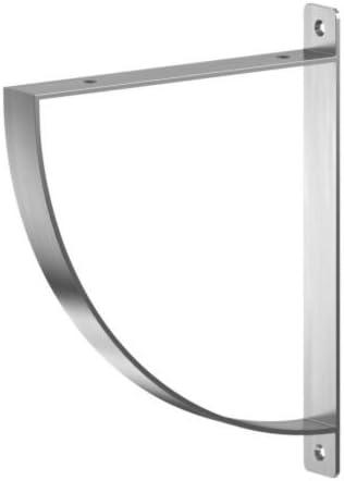 IKEA EKBY ROBERT - Soporte, aluminio - 20 cm: Amazon.es: Hogar