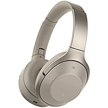 Sony Bluetooth stereo headphone MDR-1000X Gray beige [Japan imported] (International Model)