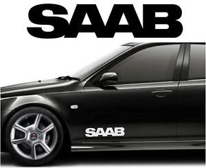 SAAB Car Body Tuning Custom Vinyl Sticker Decal Graphic  Stickers - Custom vinyl stickers for cars