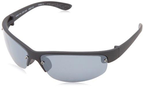 Field & Stream Char Polarized Wrap Sunglasses,Black,68 - Stream And Field Sunglasses