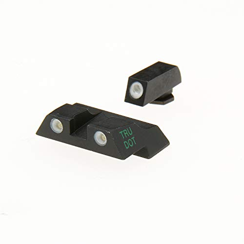 (Meprolight Glock Tru-Dot Night Sight for G26 & G27. Yellow rear sight and green front sight. Fixed set)