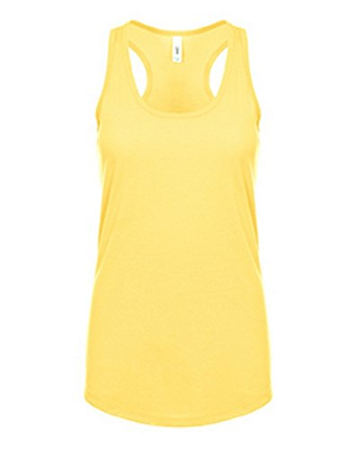 Next Level Women's Apparel Ideal Quality Tank Top, Banana Cream, XX-Large (Level Banana Cream Next)