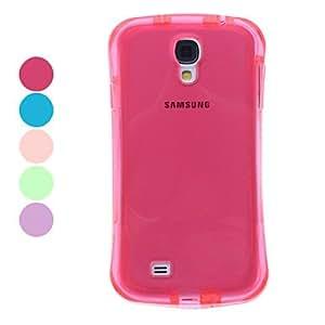 conseguir Transparente Funda TPU para Samsung Galaxy S4 i9500 (colores surtidos) , Púrpula