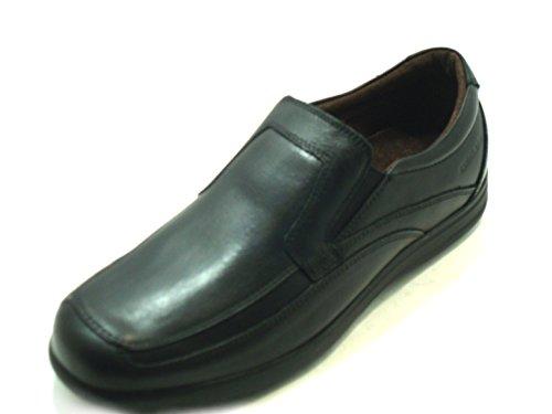 GRÜNLAND Men's Loafer Flats black black VnzJHo6