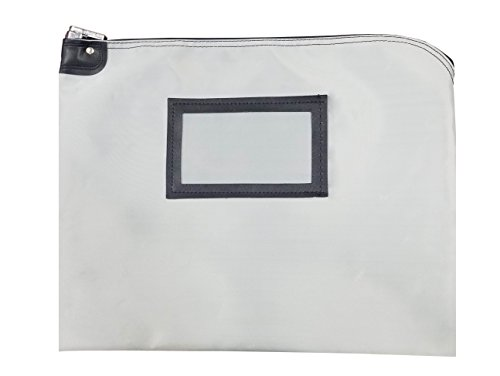 Grade School Computer Desk - Locking Document Security HIPAA Bag (Gray)