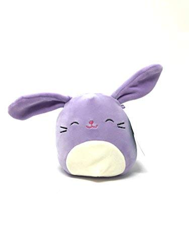 (Kellytoy Squishmallows Easter Themed Pillow Plush Toy (Purple Bunny, 5 inches))