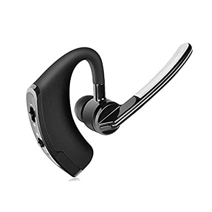 SODIAL Auriculares inalambricos Walkie Talkie Bluetooth Auricular para Motorola Kenwood Auriculares Baofeng UV-5R UV