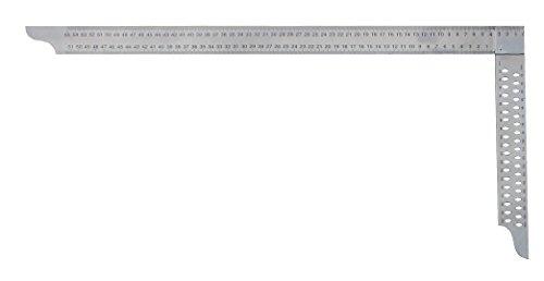 HEDÜ Zimmermannswinkel Niro mit Anreißlöcher Schienenlänge, 700 x 300 mm, Z072