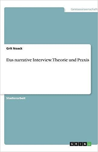 Book Das narrative Interview. Theorie und Praxis