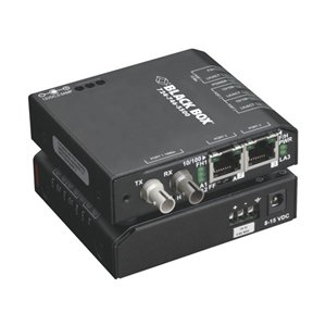 Black Box 3 Port Industrial Fast Ethernet Switch Hardened Temperature