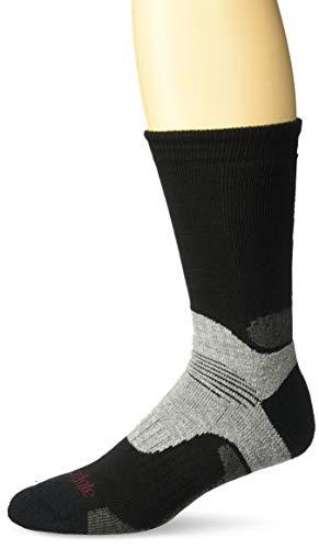 Bridgedale Men's Hike Midweight Boot Height - Merino Endurance Socks, Black, Medium ()