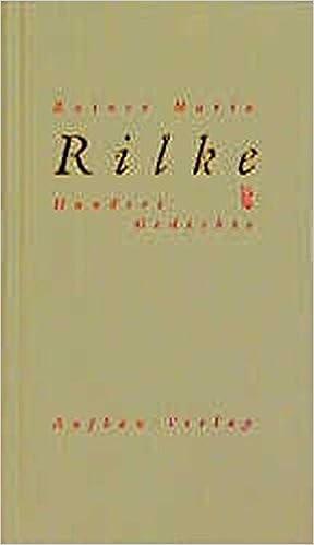 Hundert Gedichte Rainer Maria Rilke Gisela Häussermann