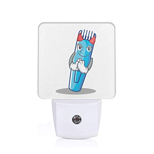 Halloween Devil Hairdresser Machine Electric Trimmer Themed 3D Printed Led Night Light Lamp Bedroom Decorations Decor Home Wall Ornament Merchandise Supplies Accessories Items Products Glow ()