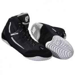 Brute Xplode 2 Wrestling Shoes Black-Silver, Size: 7 by Brute