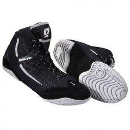 Brute Xplode 2 Wrestling Shoes Black-Silver, Size: 7