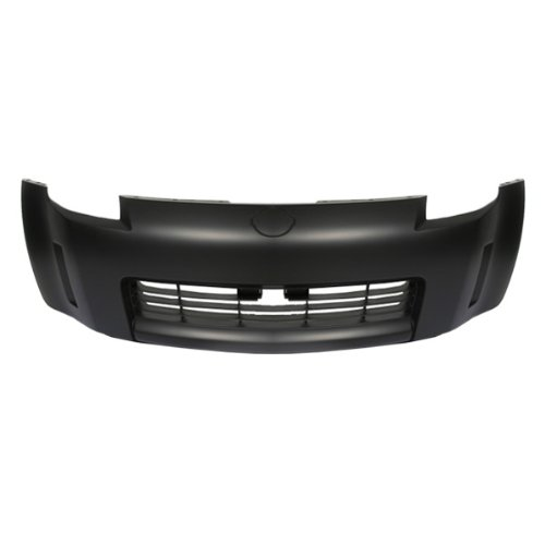 Nissan 350z Bumper - CarPartsDepot, Front Bumper Cover Replacement Primed Black New Unpainted Part, 352-361639-10 NI1000201 62022-CD025?