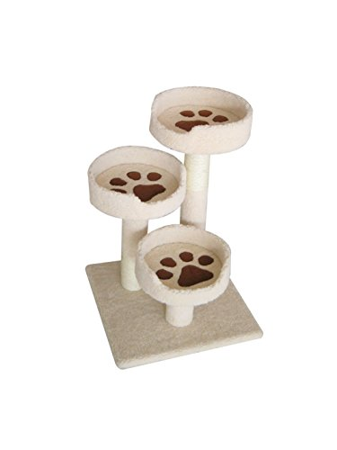 Tier Cat Tree (IRIS 3-Tier Cat Tree Condo, Kitty Paws Perch)