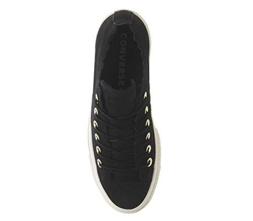 Negro Converse Calzado Ox Lift W q1wF4I
