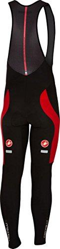 Castelli Velocissimo 3 Bib Tight - Men's Black/Red, M from Castelli