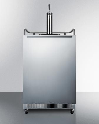 Summit SBC678OS Wine Dispenser, (24 Built In Full Keg)