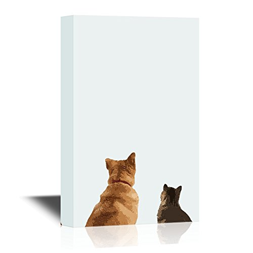 Peekaboo Animals A Dog and a Cat