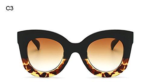 Diseñador Marca Burenqi D Cuadrado F de de de Gafas Marco Hombre Sol Mujer Acetato Transparente de Gafas de Gato Moda Ojo Lente UV400 0Bn04x