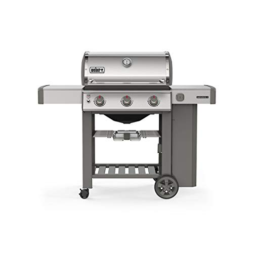 Weber Stephen Company 61001001 Genesis II S-310 LP Grill, Stainless ()