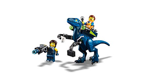 31vvOfWq0OL - LEGO THE LEGO MOVIE 2 Rex's Rex-treme Offroader! 70826 Dinosaur Car Toy Set For Boys and Girls, Action Building Kit (230 Pieces)