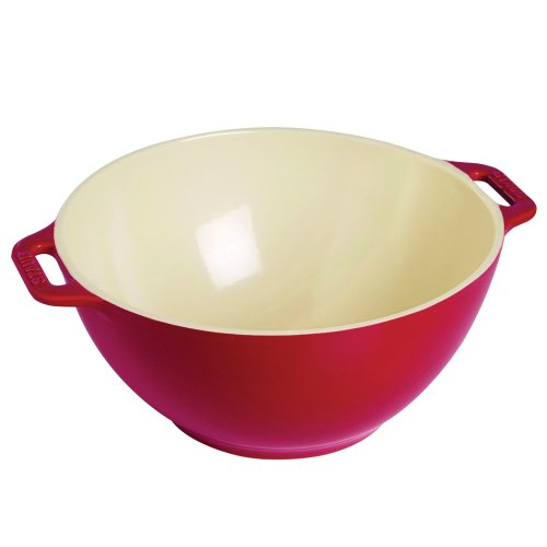 Staub 40510-797 Ceramics Serving Bowl 9.5-inch Cherry